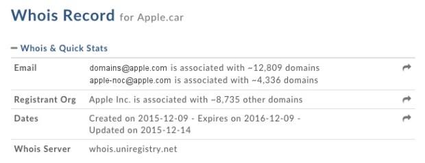 Apple.car-registration