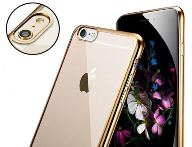 Ubegood-transparent-Gold-iPhone-6s