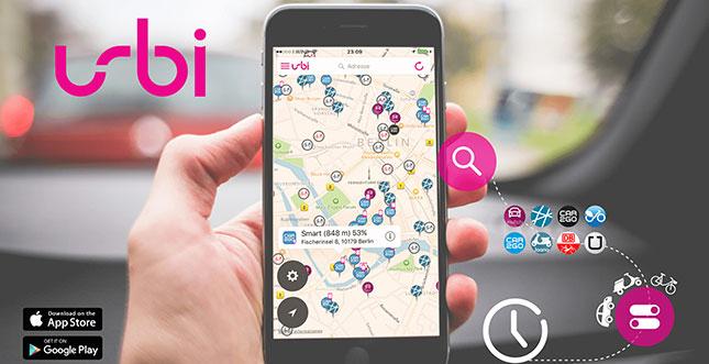 Urbi: Deutschland übergreifende App für urbane Mobilität