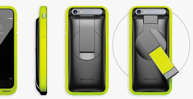 iPhone 6/6s Case mit Kurbel: Handbetrieb für Akkupower