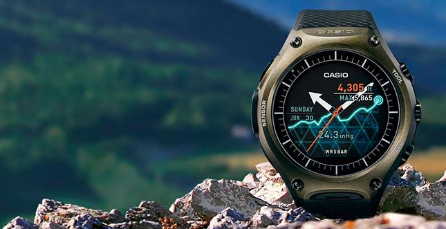 Casio WSD-F10: Smartwatch für Outdoor-Sportler