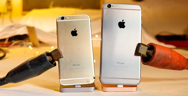 """""""iPhone schneller laden"""" für Profis: 6000 Ampere"""
