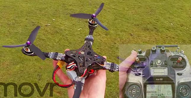 Diese Drohne fliegt einfach zu schnell: Video