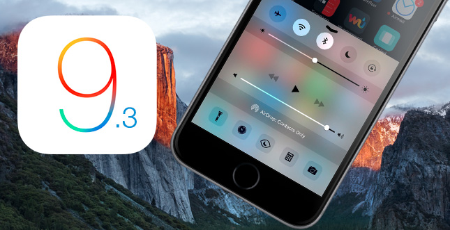 iOS 9.3 Beta 2 & OS X 10.11.4 b2: Update für Beta-Tester