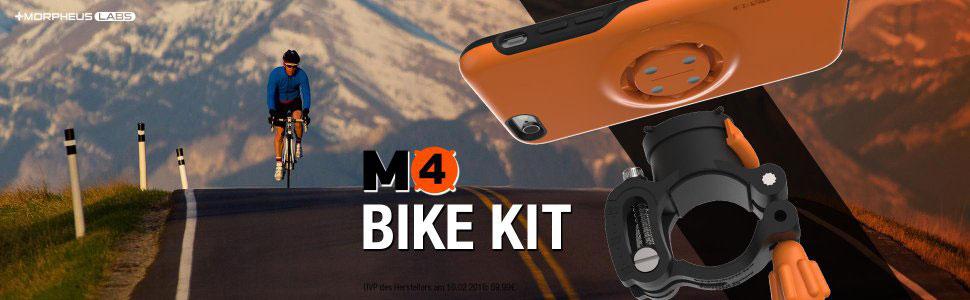 Fahrradhalterung M4 Bike Kit