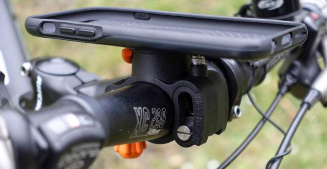 M4 Bike Kit am Fahrrad