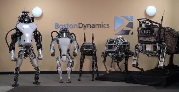 Boston Dynamics: Roboteraufstellung