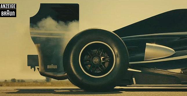 Braun Series 9: Die Speed-Challenge mit Sebastian Vettel
