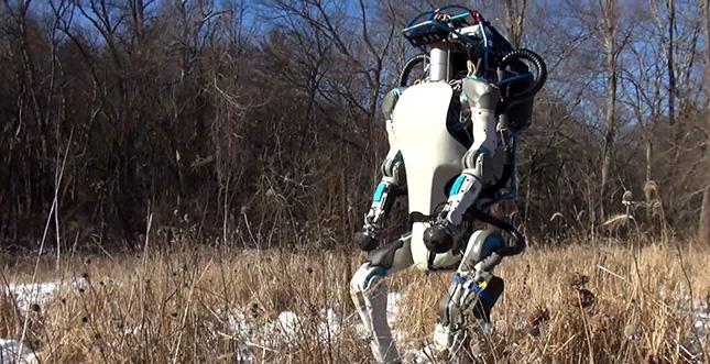 Atlas-Roboter der nächsten Generation: Video
