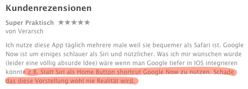 rezension google appsuche