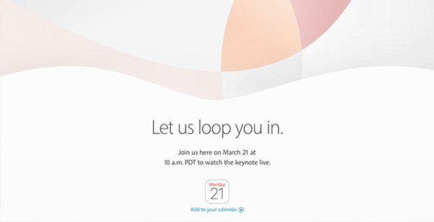 Apple Event 2016 Einladung