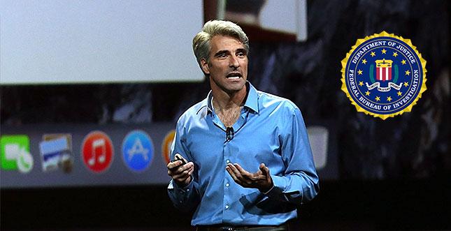 Craig Federighi von Apple stellt FBI bloß
