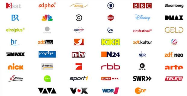 Senderauswahl bei Save.TV