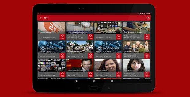 SaveTV Android App