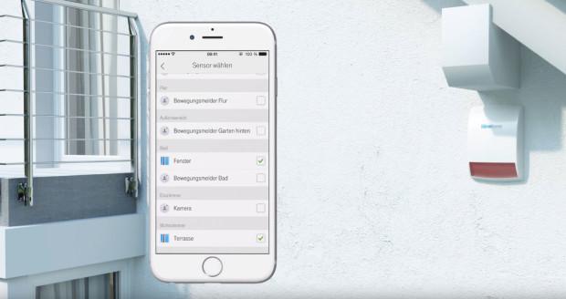 iOS App Smart Home Telekom