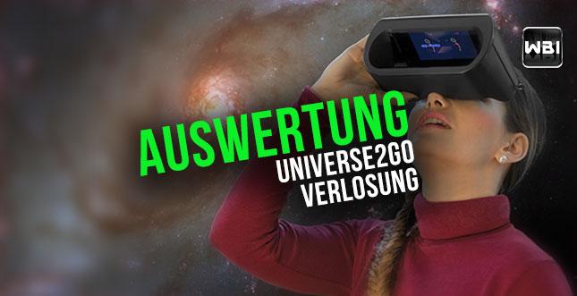 """Gewinner der AR-Brille """"Universe2go"""" für iOS & Android"""