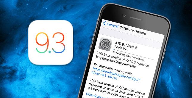iOS 9.3 & watchOS 2.2 Beta 6 ist da: Auch für Public-Tester!