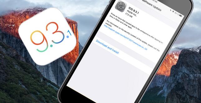 iOS 9.3.1 ist da! Was ist neu?