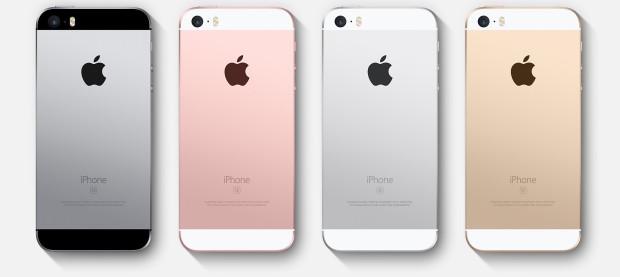 iPhone SE - Rueckseiten