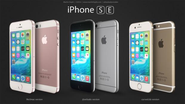 iPhone SE mockups von martin hajek