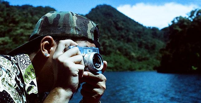 Kompaktkamera-Urlaub