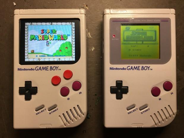 game boy pi zero - das fertige produkt