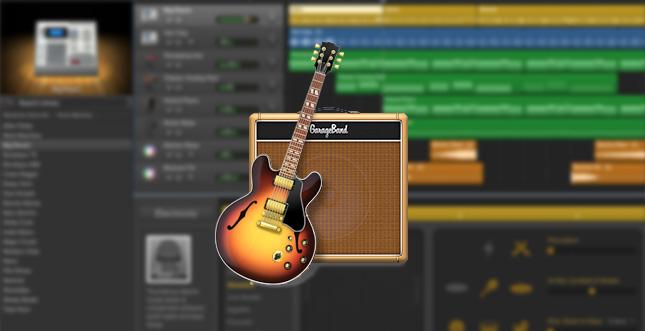 GarageBand (Mac) wurde heute erweitert