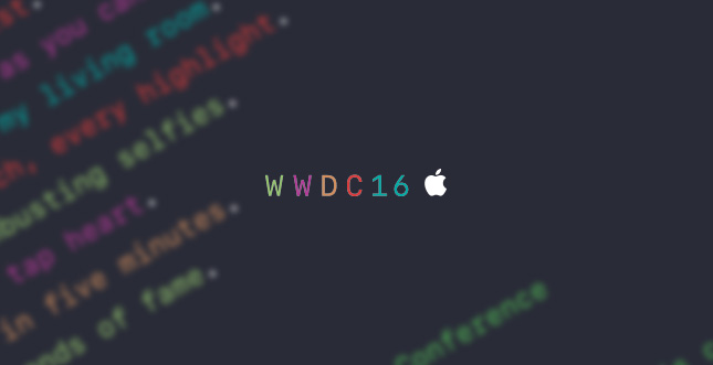 WWDC 2016: iOS 10 und mehr am 13. Juni