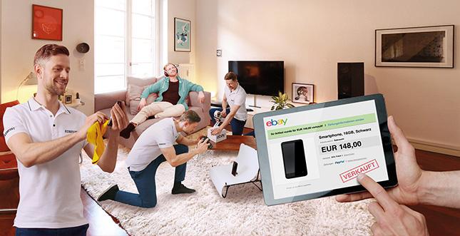 eBay Komfort: Profis übernehmen den Verkauf für faule Nutzer