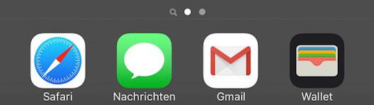 iOS-ohne-Dock