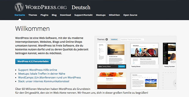 Wordpress-Website-bauen