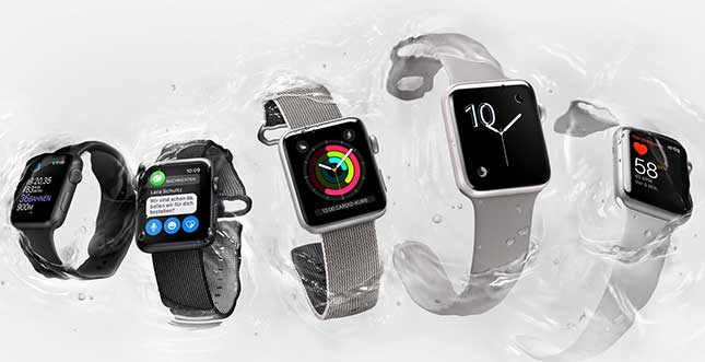 Apple Watch 2 vs. Watch 1 im Speed-Test