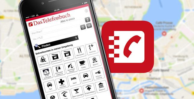 App von Das Telefonbuch: Der Alleskönner fürs Smartphone