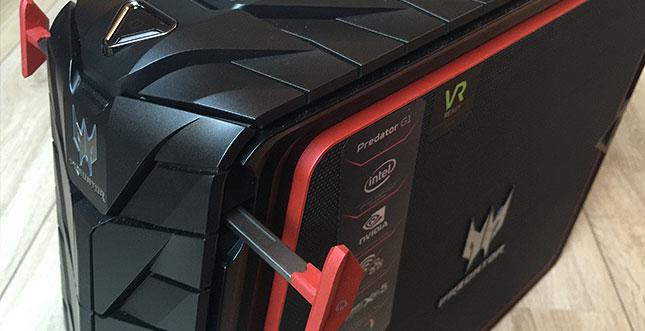 Predator G1-710 von Acer im Test: Der kompakte VR-Kraftprotz